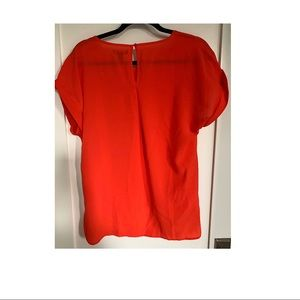 NWT GAP high low semi sheer blouse.